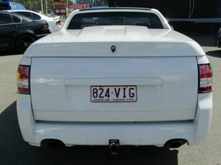 2012 Holden Commodore VE II MY12 SV6 Thunder White 6 Speed Manual Utility