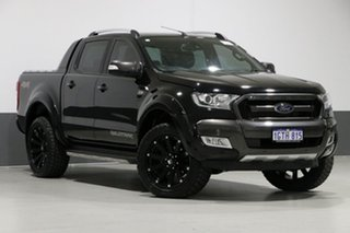 2017 Ford Ranger PX MkII MY18 Wildtrak 3.2 (4x4) Black 6 Speed Automatic Dual Cab Pick-up.