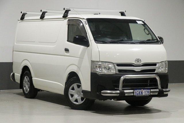 Used Toyota HiAce KDH201R MY11 Upgrade LWB, 2012 Toyota HiAce KDH201R MY11 Upgrade LWB White 5 Speed Manual Van