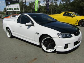 2012 Holden Commodore VE II MY12 SV6 Thunder White 6 Speed Manual Utility.