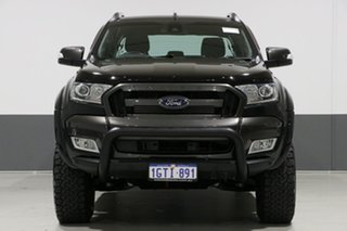 2015 Ford Ranger PX MkII Wildtrak 3.2 (4x4) Black 6 Speed Automatic Dual Cab Pick-up.