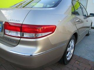 2003 Honda Accord 7th Gen V6 Luxury Gold 5 Speed Automatic Sedan
