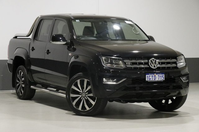 Used Volkswagen Amarok 2H MY17.5 V6 TDI 550 Ultimate, 2017 Volkswagen Amarok 2H MY17.5 V6 TDI 550 Ultimate Black 8 Speed Automatic Dual Cab Utility