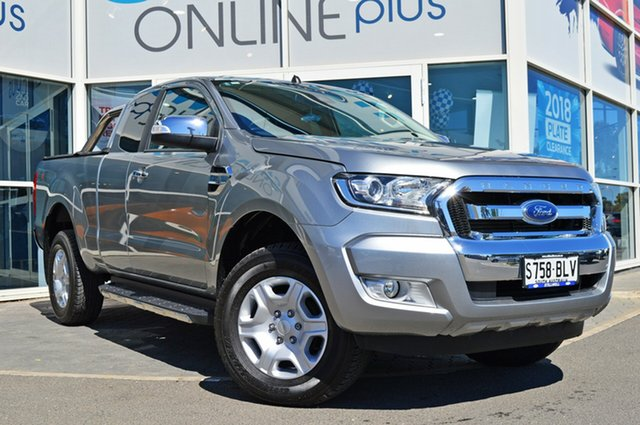 Used Ford Ranger PX MkII XLT Super Cab, 2016 Ford Ranger PX MkII XLT Super Cab Silver 6 Speed Sports Automatic Utility