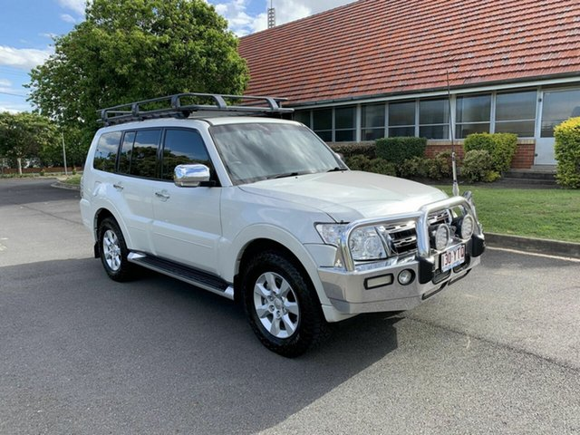 Used Mitsubishi Pajero NT Platinum, 2011 Mitsubishi Pajero NT Platinum White 5 Speed Automatic Wagon