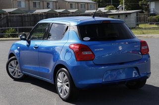 2017 Suzuki Swift AZ GL Navigator Blue 1 Speed Constant Variable Hatchback.