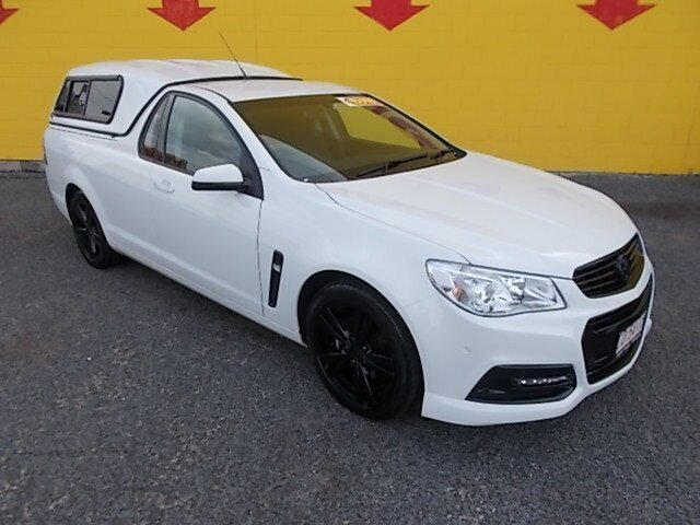 Used Holden Ute VF MY14 Ute, 2014 Holden Ute VF MY14 Ute White 6 Speed Sports Automatic Utility
