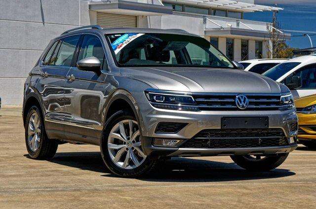 Demo Volkswagen Tiguan 5N MY19.5 132TSI DSG 4MOTION Comfortline, 2019 Volkswagen Tiguan 5N MY19.5 132TSI DSG 4MOTION Comfortline Tungsten Silver 7 Speed