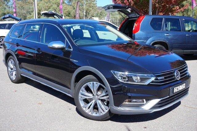 Used Volkswagen Passat 3C (B8) MY18 140TDI DSG 4MOTION Alltrack, 2018 Volkswagen Passat 3C (B8) MY18 140TDI DSG 4MOTION Alltrack Black 6 Speed