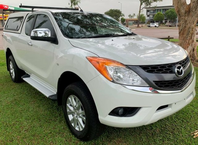 Used Mazda BT-50 UP0YF1 XTR Freestyle, 2013 Mazda BT-50 UP0YF1 XTR Freestyle White 6 Speed Manual Utility