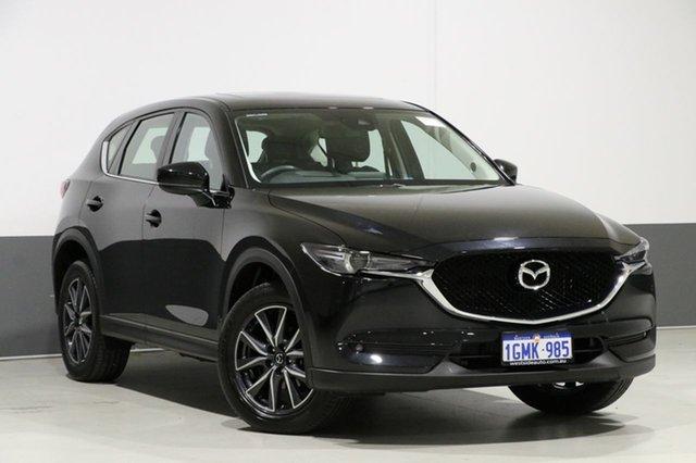 Used Mazda CX-5 MY18 (KF Series 2) GT (4x4), 2018 Mazda CX-5 MY18 (KF Series 2) GT (4x4) Black 6 Speed Automatic Wagon