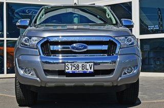 2016 Ford Ranger PX MkII XLT Super Cab Silver 6 Speed Sports Automatic Utility.