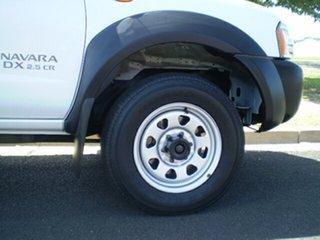 2013 Nissan Navara D22 S5 DX Polar White 5 Speed Manual Cab Chassis.
