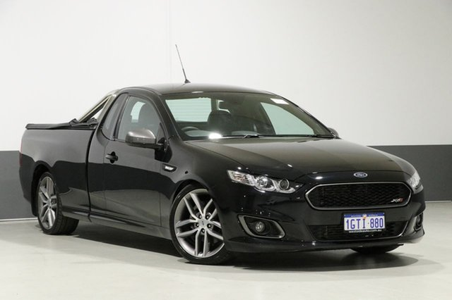 Used Ford Falcon FG X XR6T, 2015 Ford Falcon FG X XR6T Black 6 Speed Manual Utility