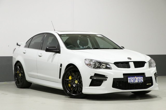Used Holden Special Vehicles GTS Gen F , 2013 Holden Special Vehicles GTS Gen F White 6 Speed Manual Sedan