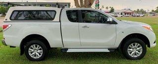 2013 Mazda BT-50 UP0YF1 XTR Freestyle White 6 Speed Manual Utility.