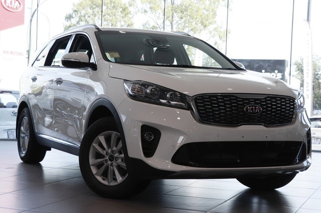 Demo Kia Sorento UM MY19 Si AWD, 2018 Kia Sorento UM MY19 Si AWD Clear White 8 Speed Sports Automatic Wagon