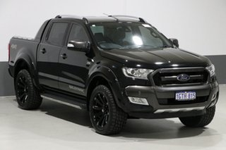 2017 Ford Ranger PX MkII MY18 Wildtrak 3.2 (4x4) Black 6 Speed Automatic Dual Cab Pick-up