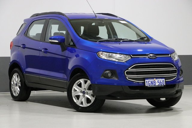 Used Ford Ecosport BK Trend, 2016 Ford Ecosport BK Trend Blue 6 Speed Automatic Wagon