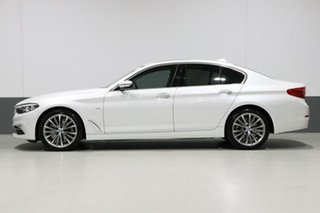 2018 BMW 520d G30 MY18 Luxury Line White 8 Speed Automatic Sedan