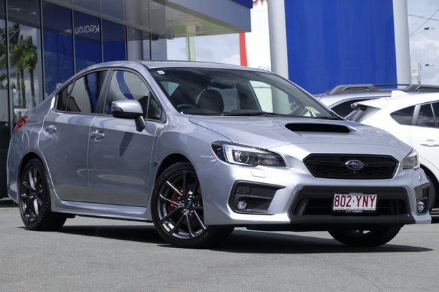 Demo Subaru WRX V1 MY18 Premium AWD, 2018 Subaru WRX V1 MY18 Premium AWD Ice Silver 6 Speed Manual Sedan