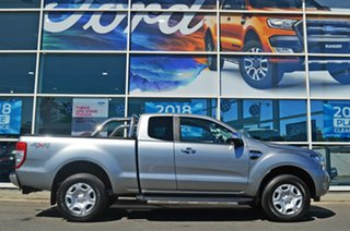 2016 Ford Ranger PX MkII XLT Super Cab Silver 6 Speed Sports Automatic Utility