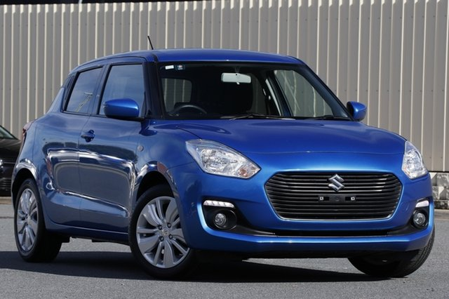 Used Suzuki Swift AZ GL Navigator, 2017 Suzuki Swift AZ GL Navigator Blue 1 Speed Constant Variable Hatchback