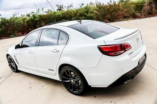 2014 Holden Commodore VF MY14 SS V Redline Heron White 6 Speed Manual Sedan.