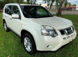 2013 Nissan X-Trail T31 Series V TS White 6 Speed Sports Automatic Wagon.