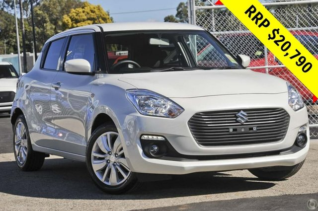 New Suzuki Swift AZ GL Navigator, 2019 Suzuki Swift AZ GL Navigator Pure White 1 Speed Constant Variable Hatchback