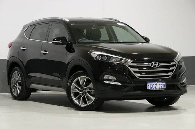 Used Hyundai Tucson TL Upgrade Elite (FWD), 2017 Hyundai Tucson TL Upgrade Elite (FWD) Black 6 Speed Automatic Wagon