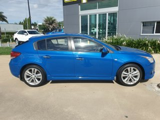 2013 Holden Cruze JH Series II MY14 SRi-V Blue 6 Speed Manual Hatchback.