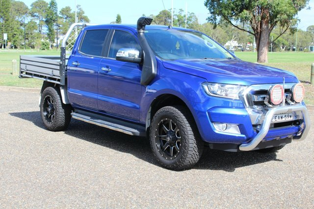 Used Ford Ranger  XLT, 2016 Ford Ranger XLT Aurora Blue Sports Automatic Dual Cab Utility