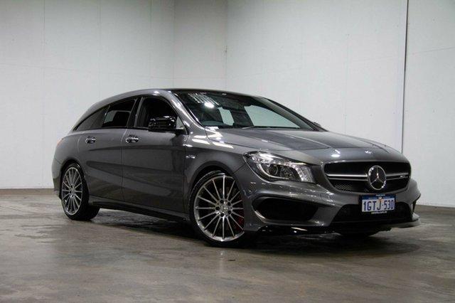 Used Mercedes-Benz CLA45 X117 806MY AMG Shooting Brake SPEEDSHIFT DCT 4MATIC, 2016 Mercedes-Benz CLA45 X117 806MY AMG Shooting Brake SPEEDSHIFT DCT 4MATIC Grey 7 Speed