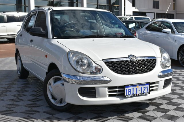 Used Daihatsu Sirion M100RS , 2003 Daihatsu Sirion M100RS White 4 Speed Automatic Hatchback