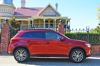 2015 Mitsubishi ASX XB MY15 LS 2WD Red 6 Speed Constant Variable Wagon.