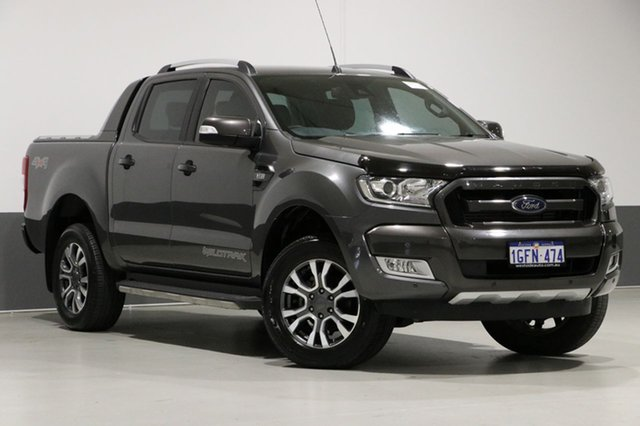 Used Ford Ranger PX MkII MY17 Wildtrak 3.2 (4x4), 2017 Ford Ranger PX MkII MY17 Wildtrak 3.2 (4x4) Grey 6 Speed Automatic Dual Cab Pick-up