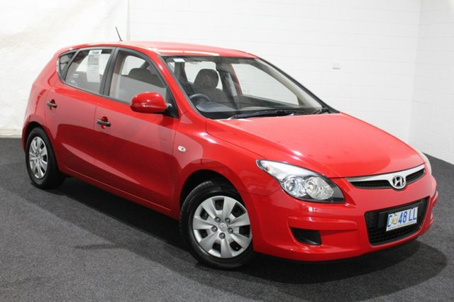 Used Hyundai i30 FD MY11 SX, 2011 Hyundai i30 FD MY11 SX Shine Red 5 Speed Manual Hatchback