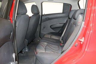 2010 Holden Barina Spark MJ CD Red 5 Speed Manual Hatchback