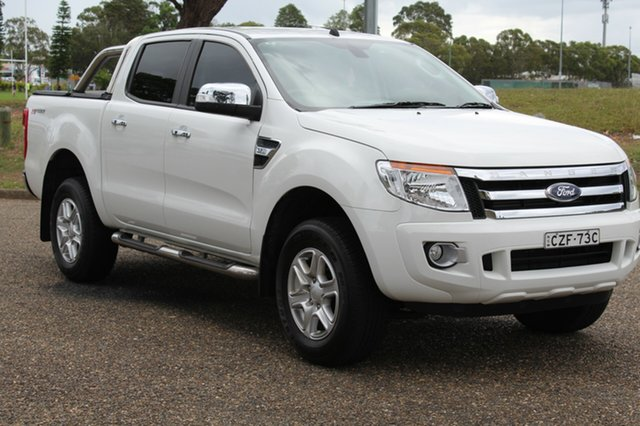 Used Ford Ranger  , 2015 Ford Ranger XLT - Hi-Rider Cool White Manual Dual Cab Utility