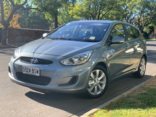 2018 Hyundai Accent RB6 MY18 Sport Lake Silver 6 Speed Manual Hatchback.