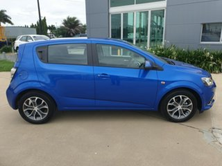 2016 Holden Barina TM MY17 LS Blue 5 Speed Manual Hatchback.