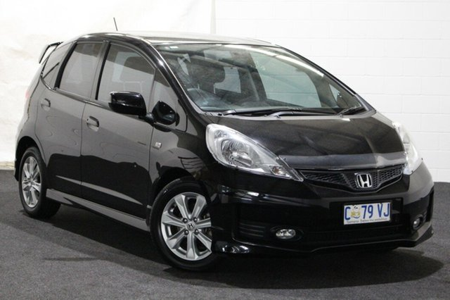 Used Honda Jazz GE MY12 VTi, 2012 Honda Jazz GE MY12 VTi Black 5 Speed Automatic Hatchback