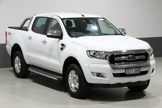 2017 Ford Ranger PX MkII MY17 Update XLT 3.2 (4x4) White 6 Speed Manual Dual Cab Utility