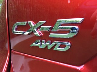 2018 Mazda CX-5 KF4WLA GT SKYACTIV-Drive i-ACTIV AWD Red 6 Speed Sports Automatic Wagon