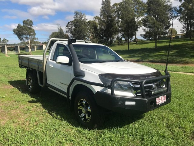 Used Holden Colorado RG MY17 LS, 2016 Holden Colorado RG MY17 LS White 6 Speed Manual Cab Chassis