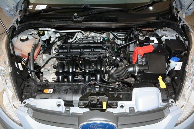 Used Ford Fiesta WS Zetec, 2011 Ford Fiesta WS Zetec Silver 5 Speed Manual Hatchback