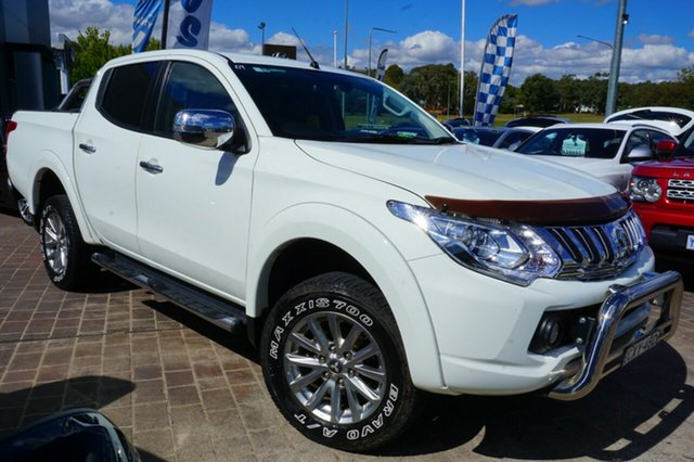 Used Mitsubishi Triton MQ MY16 Exceed Double Cab, 2015 Mitsubishi Triton MQ MY16 Exceed Double Cab 5 Speed Sports Automatic Utility
