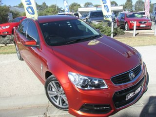 2015 Holden Commodore VF MY15 SS Red 6 Speed Sports Automatic Sedan.