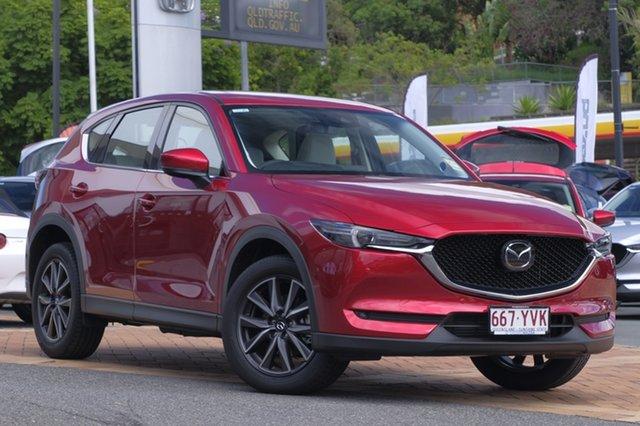 Demo Mazda CX-5 KF4WLA GT SKYACTIV-Drive i-ACTIV AWD, 2018 Mazda CX-5 KF4WLA GT SKYACTIV-Drive i-ACTIV AWD Soul Red Crystal 6 Speed Sports Automatic Wagon